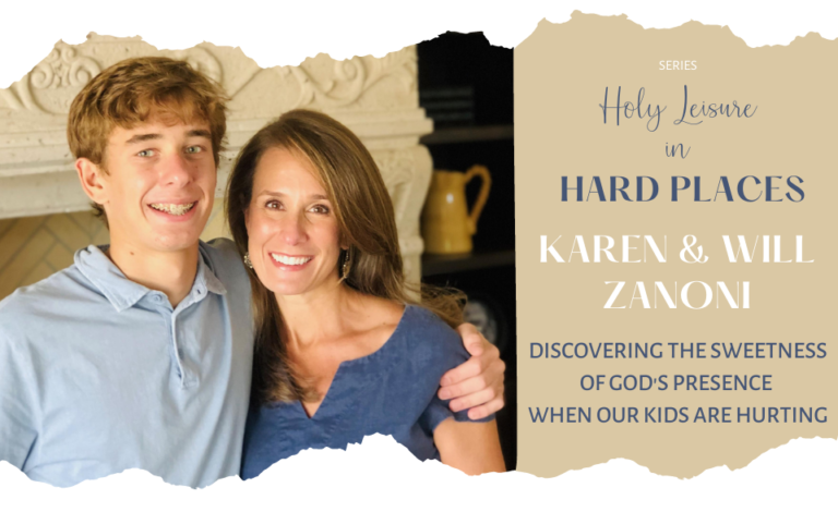 Holy Leisure in Hard Places: Karen Zanoni